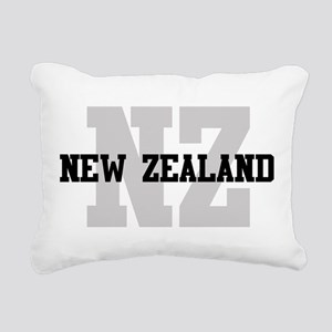 NZ New Zealand Rectangular Canvas Pillow